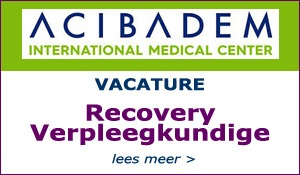 Recovery Verpleegkundige Acibadem International Medical Center