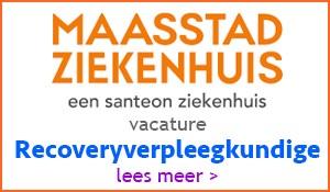 Vacature Recoveryverpleegkundige   Maasstad ZH