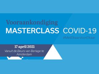17 april 2021 – Masterclass Covid